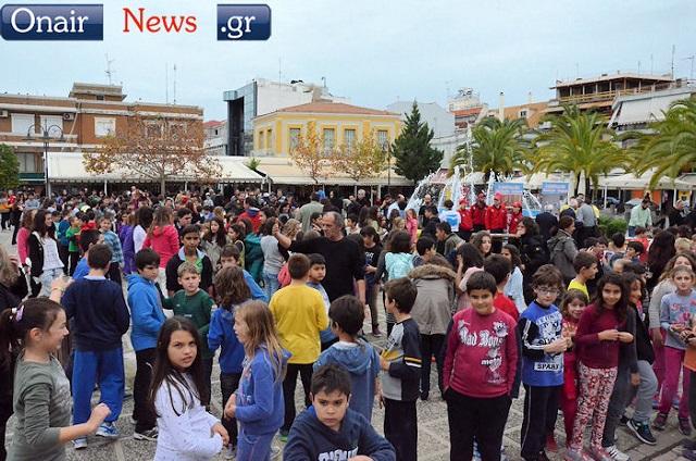 Γιορτή για την Παγκόσμια Ημέρα Εθελοντισμού στο Μεσολόγγι
