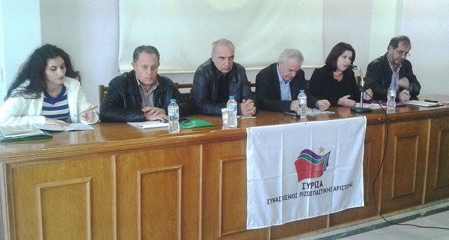 Εκδήλωση του ΣΥΡΙΖΑ Οινιαδών για τον αγροτικό τομέα