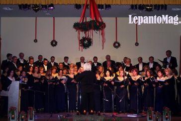 Μαγική Χριστουγεννιάτικη βραδιά από τη Μικτή Χορωδία Ναυπάκτου