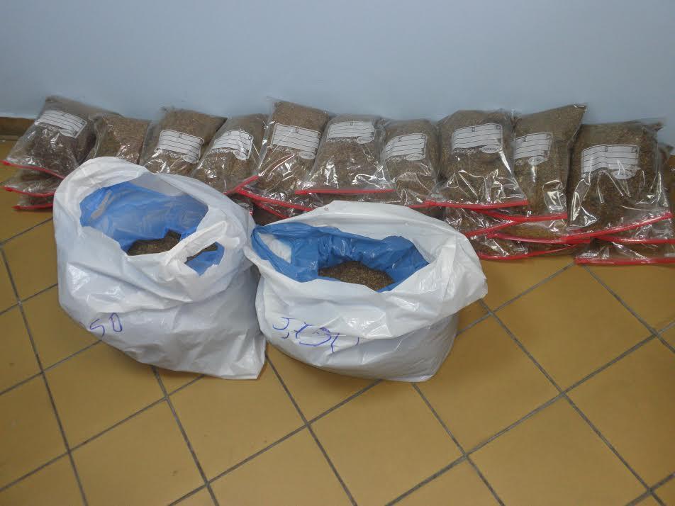 Σύλληψη στη Σπολάιτα για λαθραίο καπνό