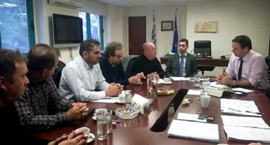Συνάντηση Γ. Διδασκάλου  με εκπροσώπους της Ο.Ε.Β.Ε.Ε. Πελοποννήσου