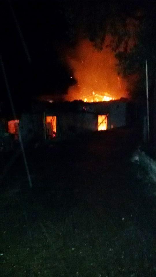 Κατοικία κάηκε ολοσχερώς στην Κατούνα