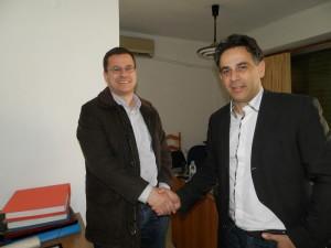 Ο υποψήφιος με το Ποτάμι Δημ. Παπαναστασόπουλος στους δήμους Αγρινίου και Μεσολογγίου