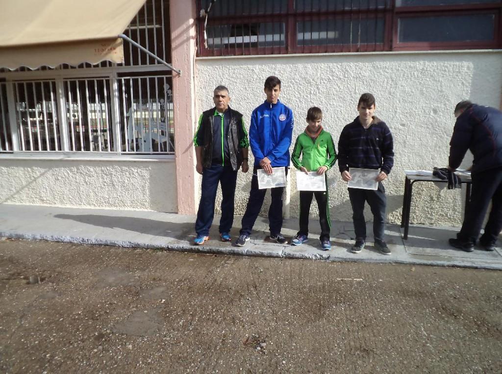 Με μεγάλη επιτυχία πραγματοποιήθηκε το  σχολικό πρωτάθλημα ανώμαλου δρόμου