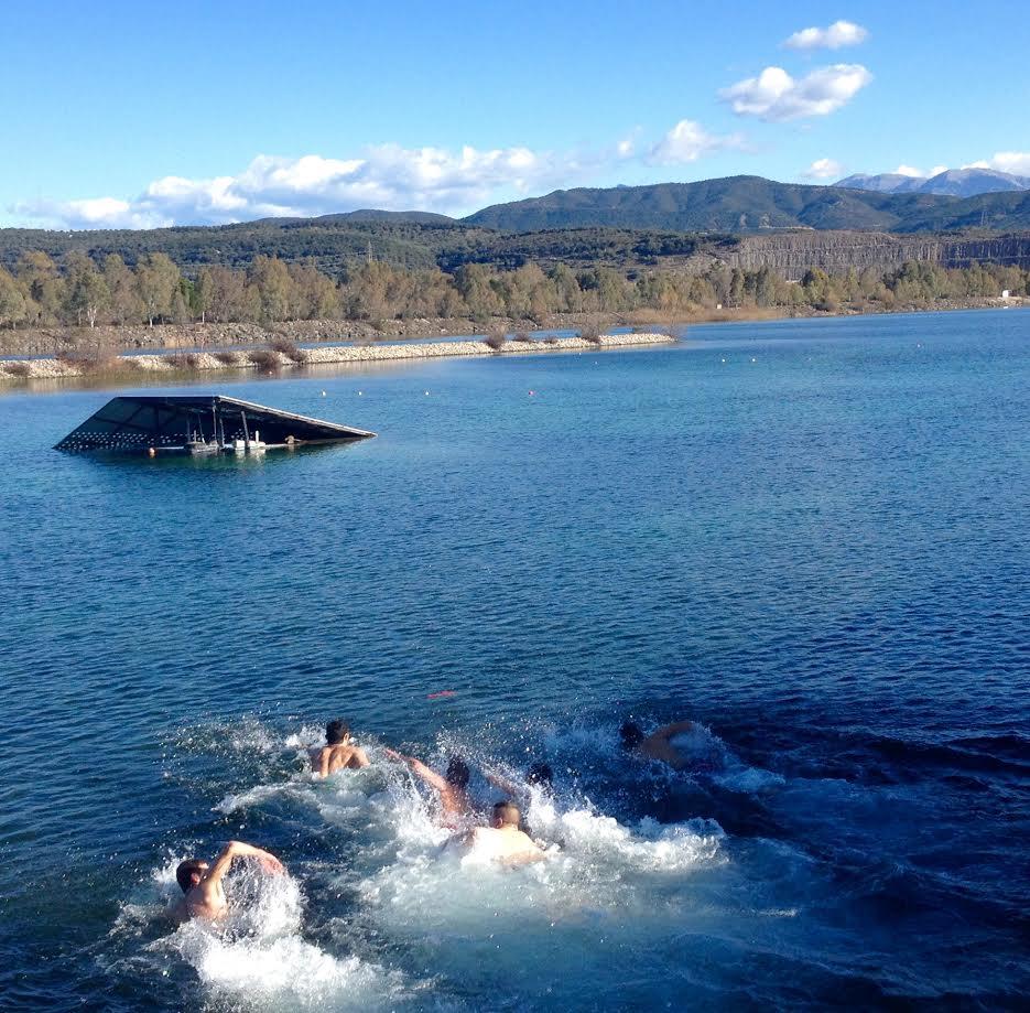 Tα Θεοφάνεια στη λίμνη Στράτου (φωτό)