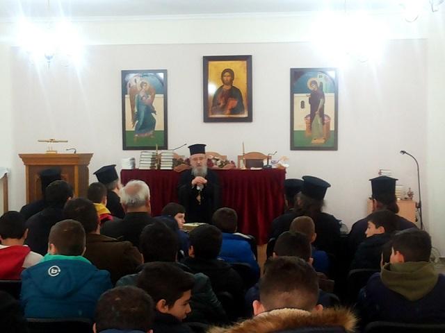 Σύναξη Ιεροπαίδων στην Ι. Μητρόπολη Αιτωλίας και Ακαρνανίας