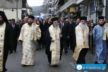 Με λαμπρότητα γιόρτασε η Αμφιλοχία τον πολιούχο της Άγιο Αθανάσιο