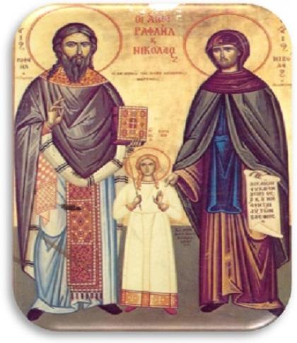 Λατρευτικές εκδηλώσεις για την έλευση της Τίμιας Κάρας του Αγίου Ραφαήλ