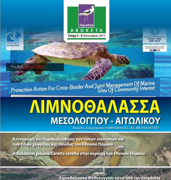 Μεσοχειμωνιάτικες κατατεμετρήσεις ειδών πουλιών στη Λιμνοθάλασσα Μεσολογγίου