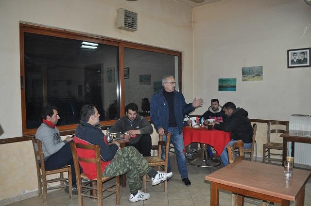 Συνεχίζει τις επαφές του με πολίτες της Αιτωλοακαρνανίας ο Σάκης Τορουνίδης