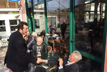 Συνεχίζει την επαφή του με τους Αιτωλοακαρνάνες ο  Δημήτρης Μπαλαμπάνης