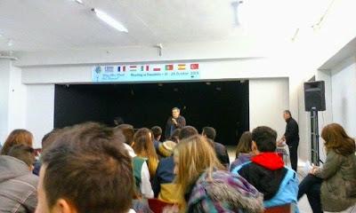 """Με επιτυχία η Εκδήλωση στο Λύκειο Παναιτωλίου με θέμα """"Εξαρτήσεις και Εφηβεία"""""""