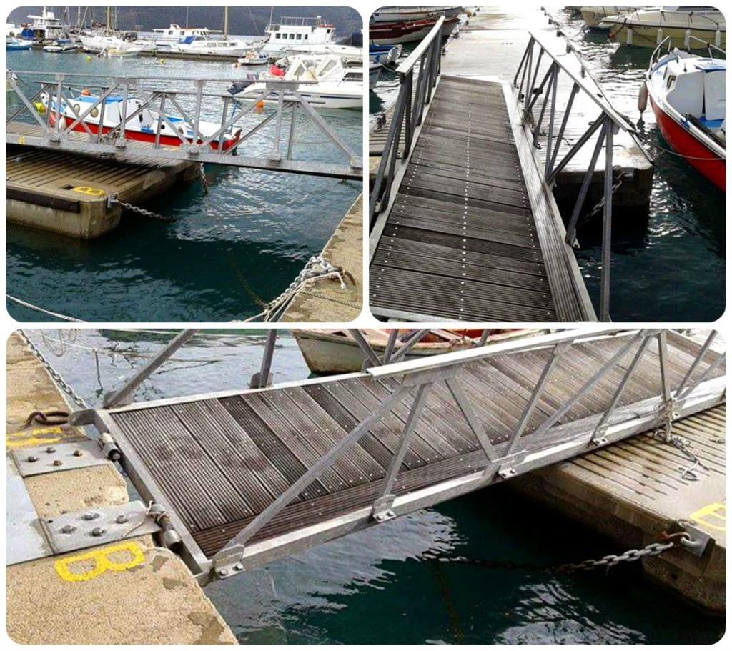 Ζημιές στο λιμάνι του Μύτικα