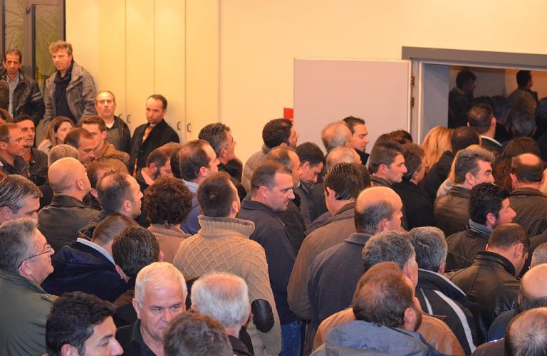 Αγρίνιο: μεγάλη συμμετοχή στην ημερίδα για νέα ΚΑΠ και ΟΣΔΕ