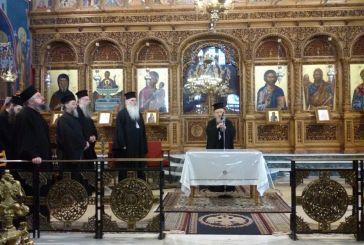 Ιερατική Σύναξη στο Αγρίνιο με τον Μητροπολίτη Μεσογαίας