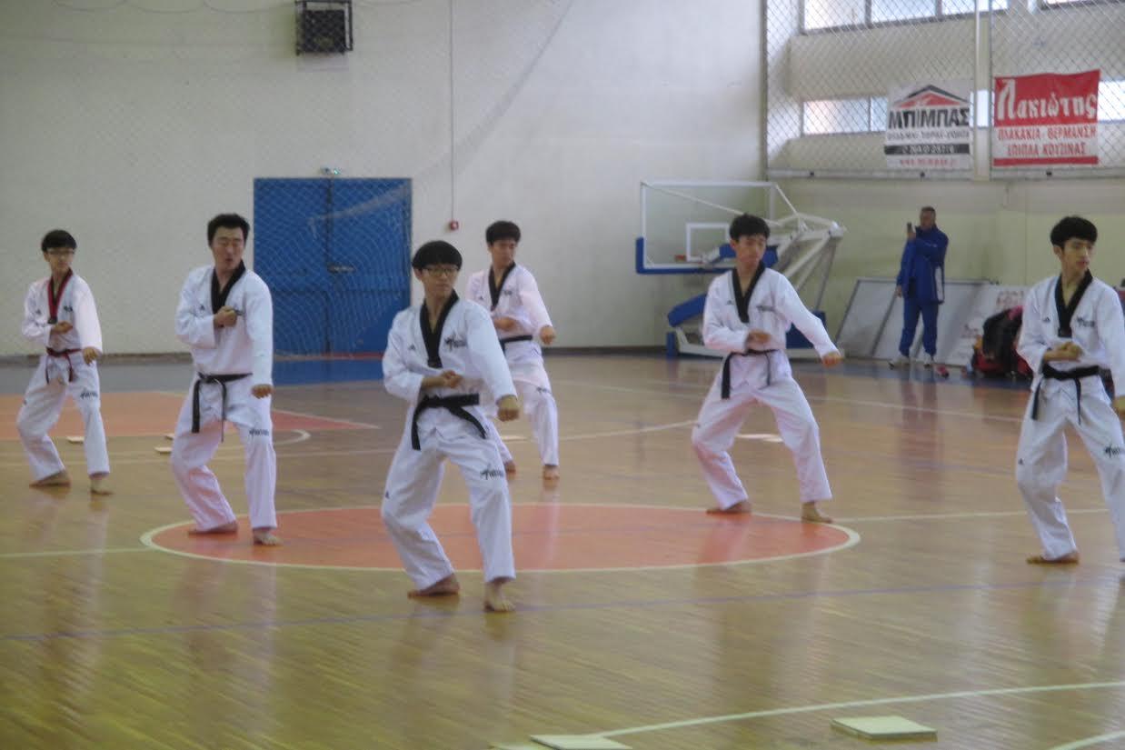 Tae Kwon Do: 12 κορυφαίοι Κορεάτες στο Αγρίνιο