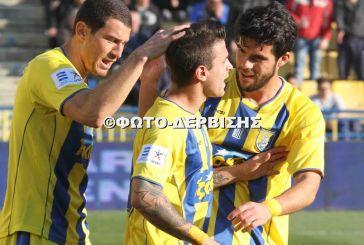 Tα στιγμιότυπα του Παναιτωλικός-Αστέρας Τρίπολης 2-0