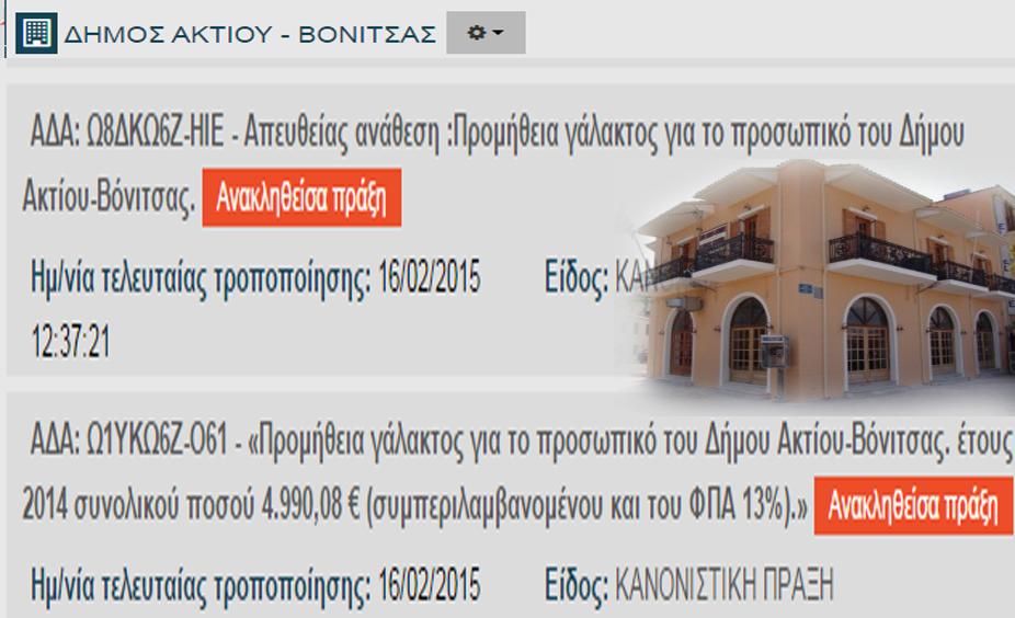 AKTIOY BONITSAS GALA