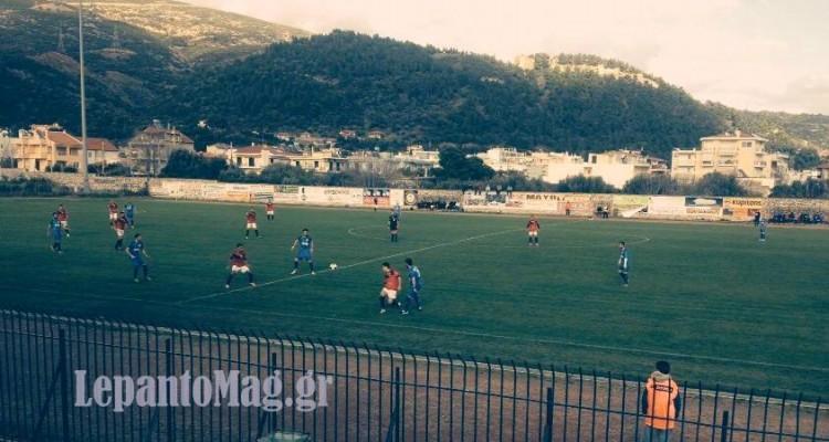 Ισόπαλο 2-2 έληξε το ντέρμπι Ναυπακτιακός Αστέρας – ΑΕ Μεσολογγίου [φωτο]