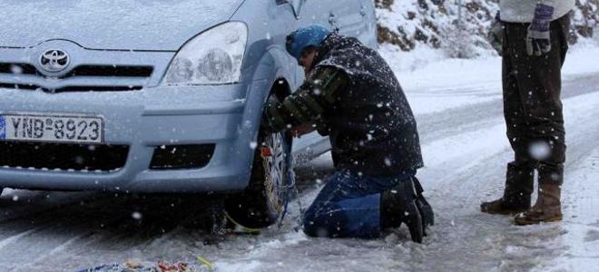 Σε ποια σημεία του οδικού δικτύου της Αιτωλοακαρνανίας είναι απαραίτητες οι αντιολισθητικές αλυσίδες