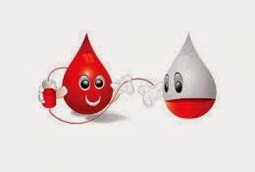 Εθελοντική αιμοδοσία την Παρασκευή
