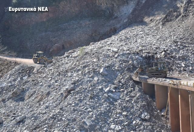 Συνεχίζονται τα κατολισθητικά φαινόμενα στα Διπόταμα