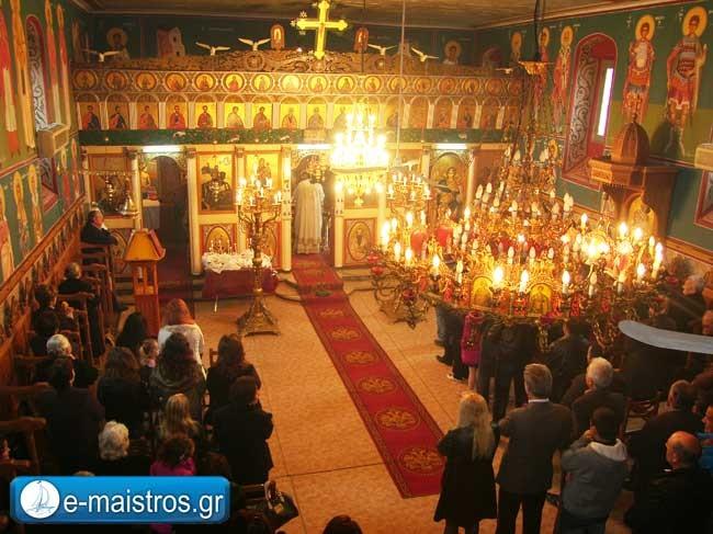 Το Αμπελάκι τίμησε τον πολιούχο του Άγιο Θεόδωρο