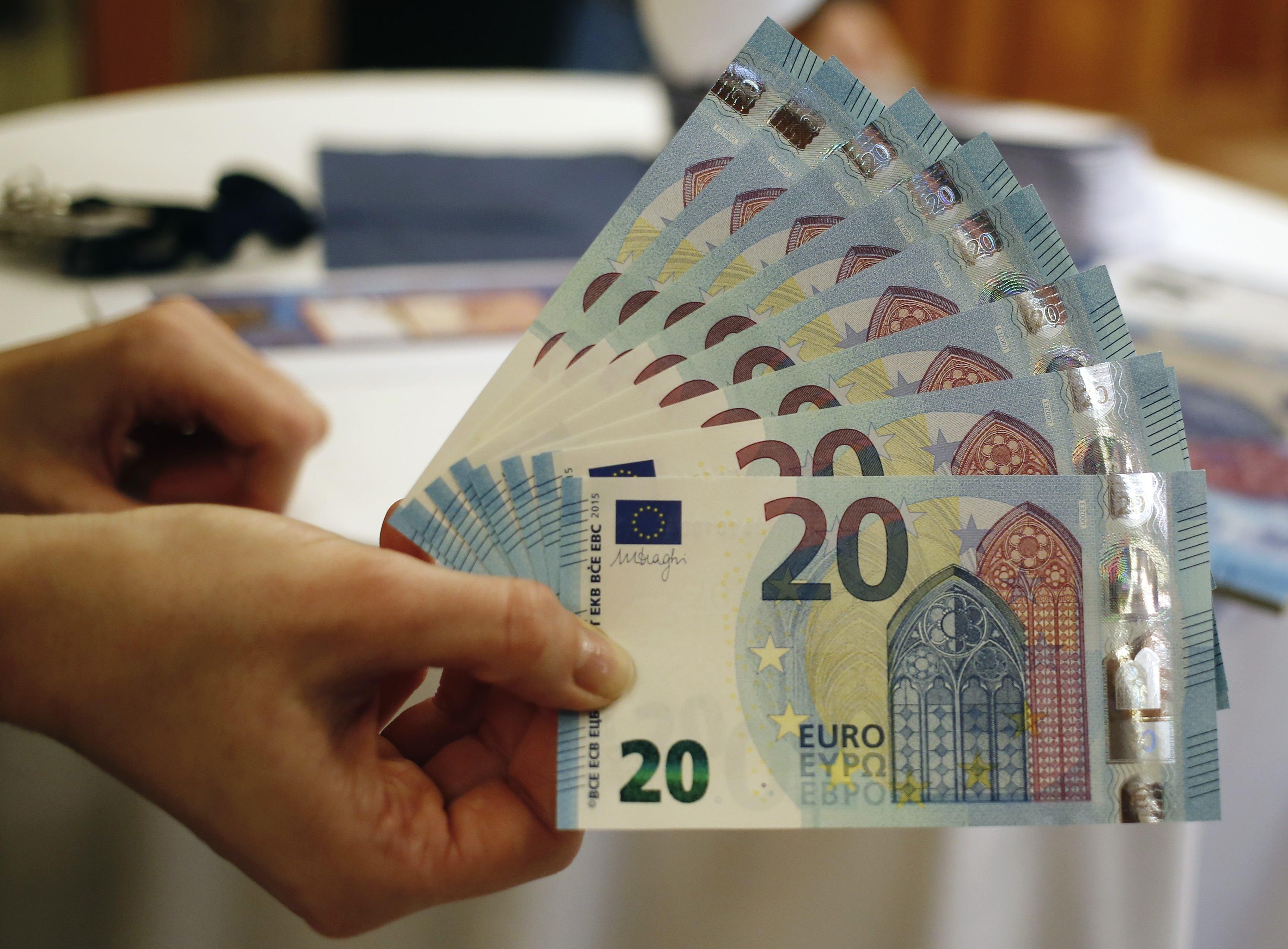 Δείτε το νέο χαρτονόμισμα των 20 ευρώ