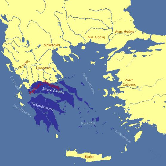 3 -2-1830: Ανεξάρτητη Ελλάδα με σύνορα στον Αχελώο χωρίς το Βραχώρι