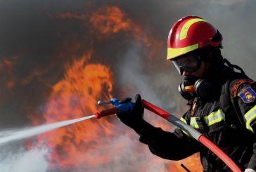 Κάηκε ολοσχερώς σπίτι στη Δάφνη Ναυπακτίας (video)