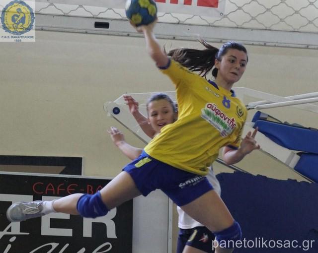 Eύκολο δίποντο για την ομάδα handball γυναικών του Παναιτωλικού