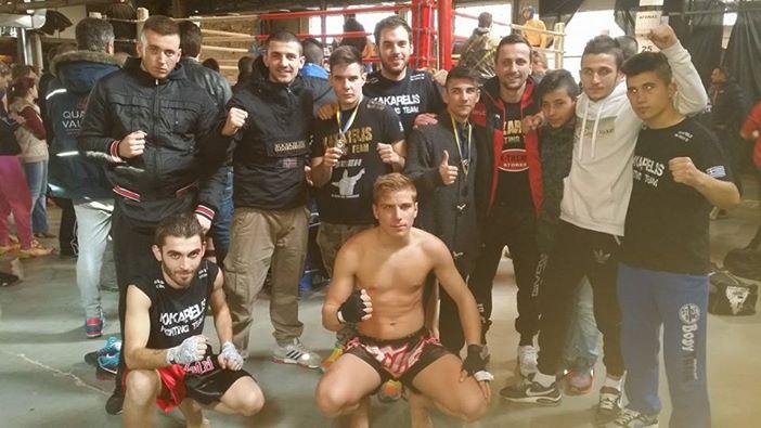 Nέες επιτυχίες των αθλητών του fight club kakarelis