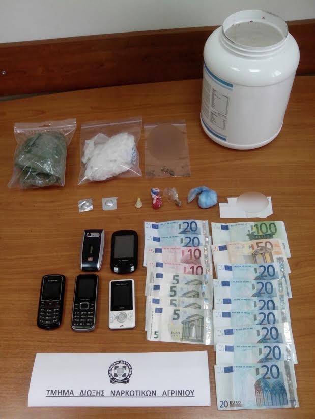 Τι αναφέρει η αστυνομία για τον 43χρονο με ναρκωτικά στη Στράτο