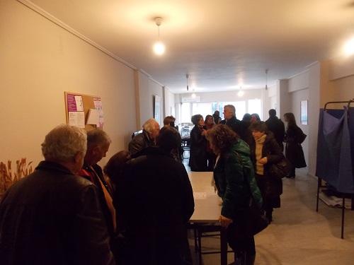 Εκλογές σ' εξέλιξη στον ΣΥΡΙΖΑ Αγρινίου (φωτό)