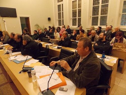 δημοτικό συμβούλιο 14