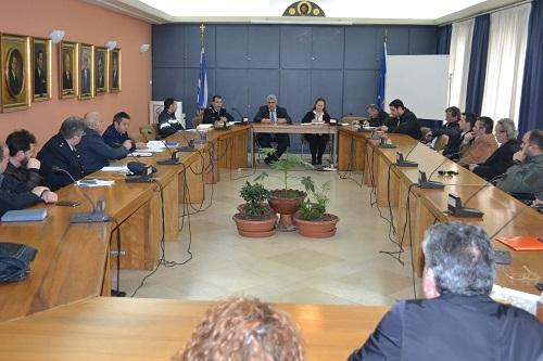 Σύσκεψη και πρόληψη ενόψει της αντιπυρικής περιόδου