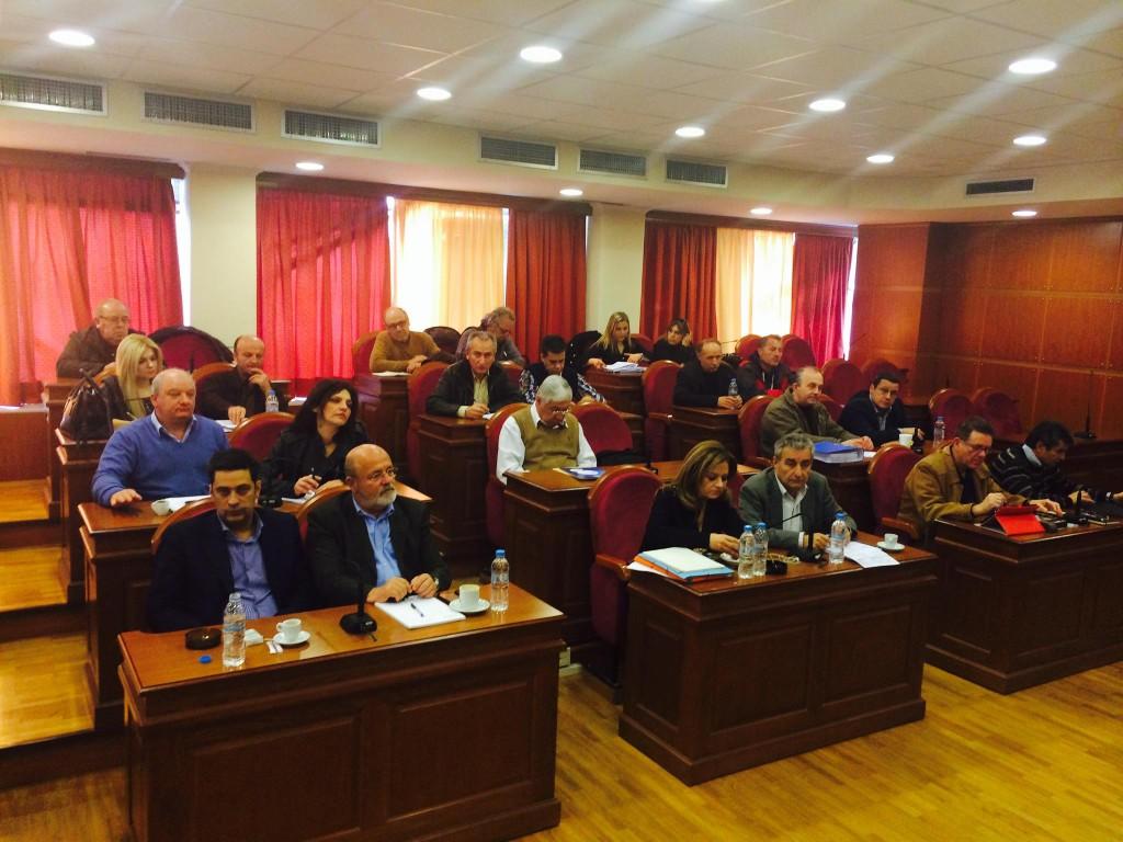 Σύσκεψη για τους πόρους από το Ταμείο Αλληλεγγύης για τις ζημιές