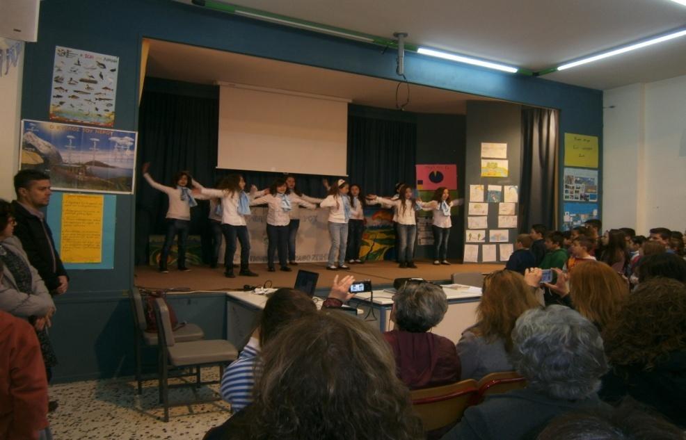 Εκδήλωση για την Παγκόσμια Ημέρα Νερού στο 12ο Δημοτικό Σχολείο Αγρινίου