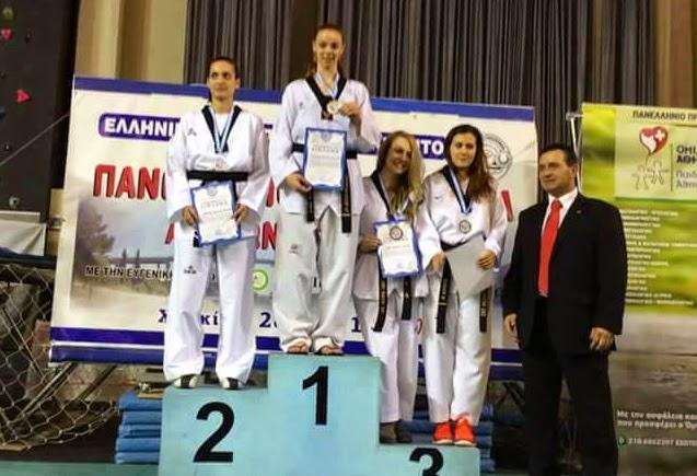 Πανελλήνιες διακρίσεις για τον Κένταυρο Αστακού στο Taekwondo