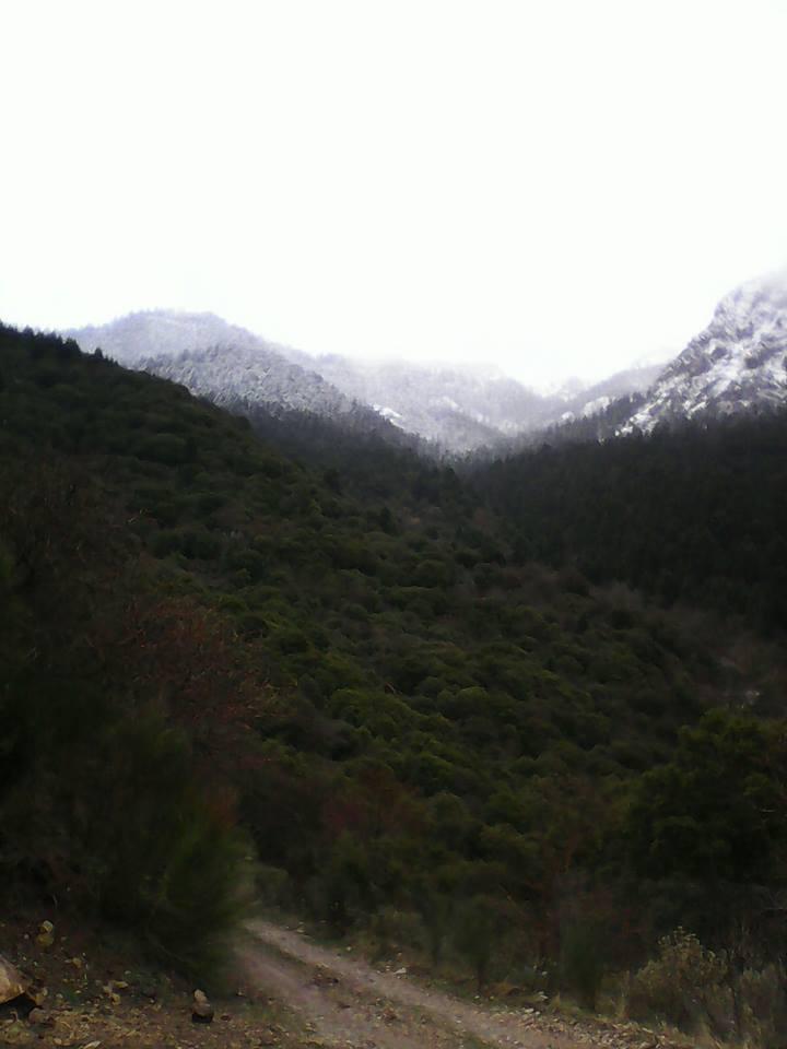 """""""Ανοιξιάτικο"""" χιόνι στον Άγιο Βλάση"""