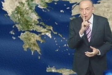 Αρνιακός: Έρχονται θερμοκρασίες άνω των 30 βαθμών