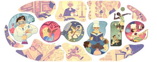 Η Google τιμά τη γιορτή της γυναίκας με το σημερινό της doodle