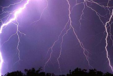 Καταιγίδες και πτώση της θερμοκρασίας από το Σάββατο στη Δυτική Ελλάδα