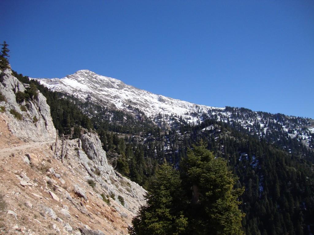 Χειμερινή ανάβαση στο Κυνηγό ( σύνορα Ευρυτανίας με Αιτωλοακαρνανία)