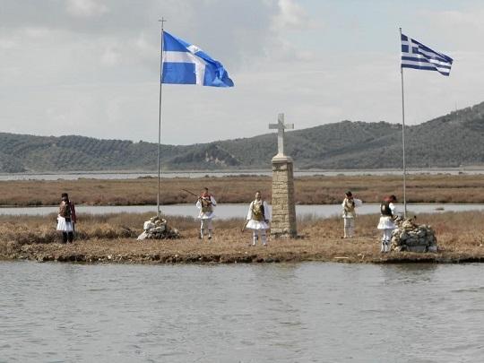 Tο Αιτωλικό τίμησε τον οπλαρχηγό Γρ. Λιακατά στην επέτειο της μάχης του Ντολμά