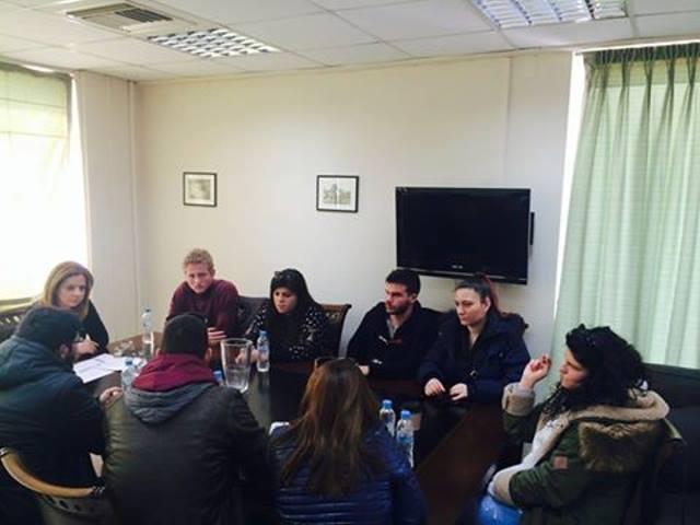 Συνάντηση με φοιτητές του Αγρινίου είχε η Χρ. Σταρακά