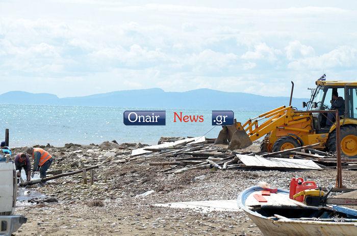 Κατεδαφίσεις αυθαιρέτων στην Τουρλίδα , προσεχώς και σε πελάδες
