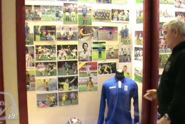 Εγκαίνια της έκθεσης για το ποδόσφαιρο στο Αθλητικό Μουσείο Αγρινίου