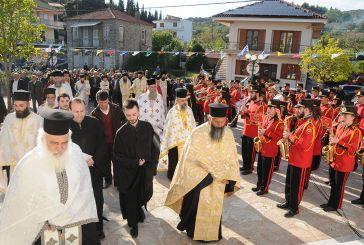 Υποδοχή ιερών λειψάνων στην Καμαρούλα (φωτό)