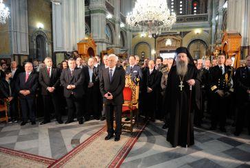 Ο Προέδρος της Δημοκρατίας στο Μεσολόγγι (φωτό)